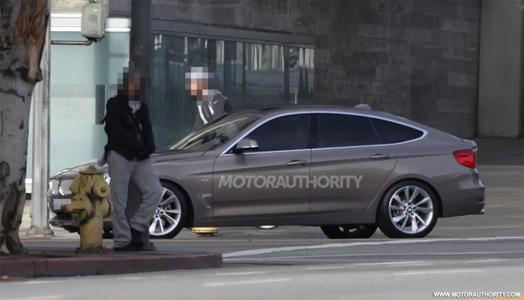 2013 BMW 3-Series Gran Turismo spy shots