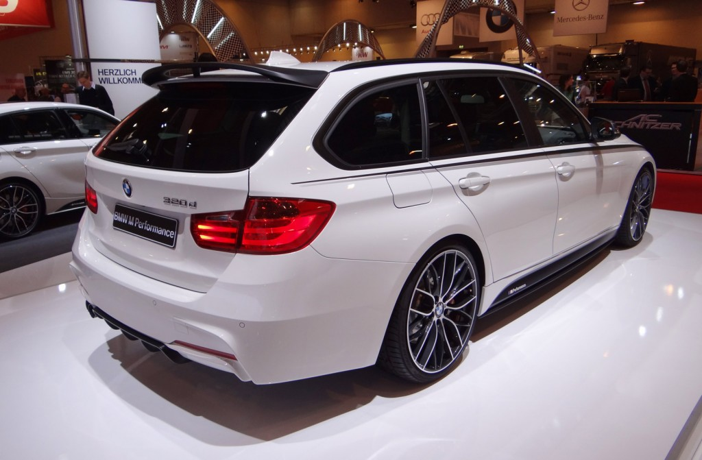 Image BMW Series Sports Wagon Fitted With M Performance - Bmw 3 series sport wagon
