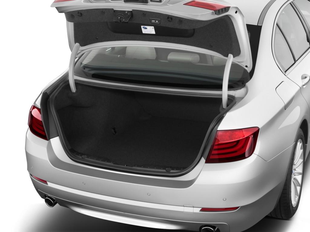 image 2013 bmw 5 series 4 door sedan 535i rwd trunk size. Black Bedroom Furniture Sets. Home Design Ideas