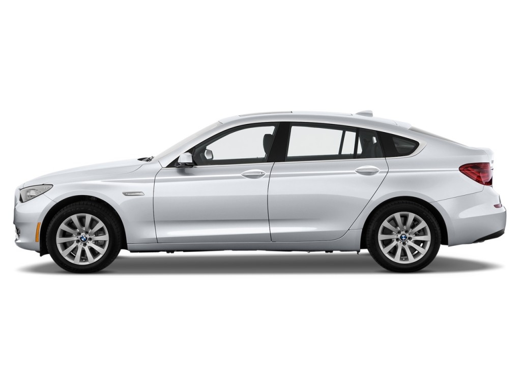 2013 BMW 5-Series Gran Turismo 5dr 550i Gran Turismo RWD Side Exterior View
