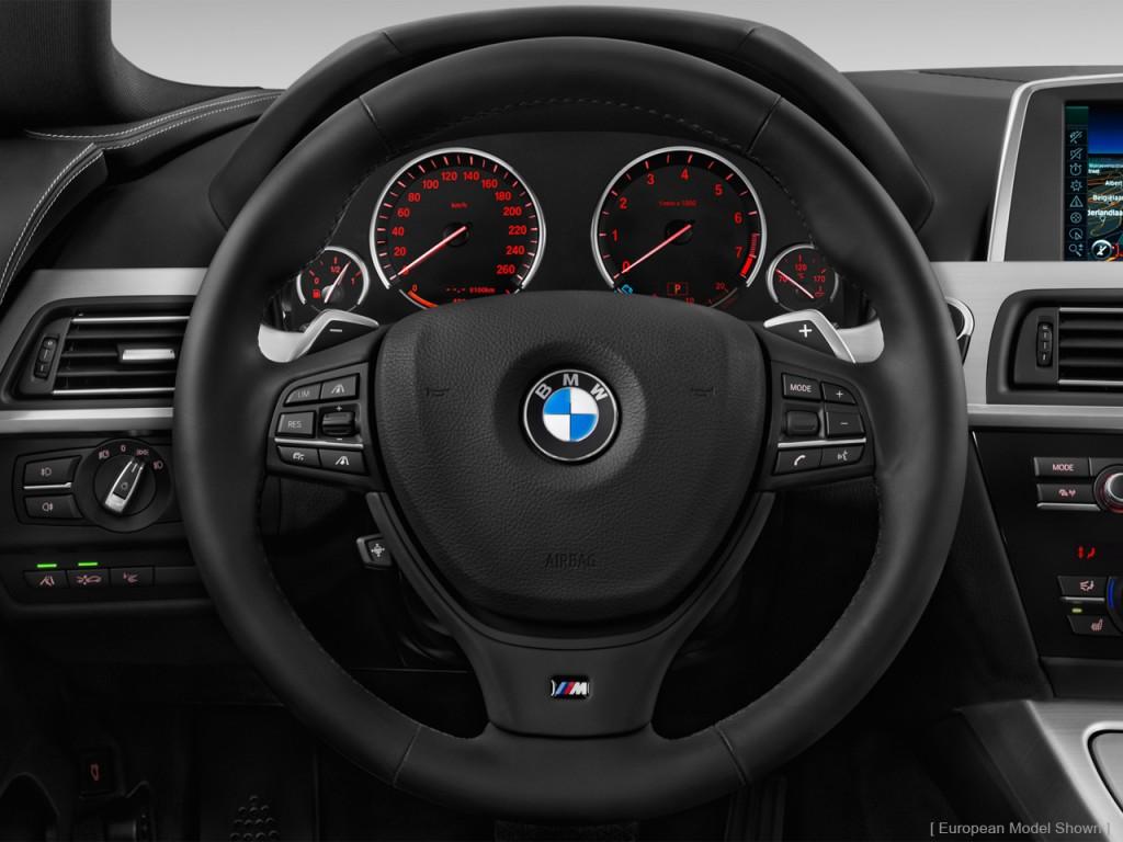 image 2013 bmw 6 series 4 door sedan 640i gran coupe steering wheel size 1024 x 768 type. Black Bedroom Furniture Sets. Home Design Ideas