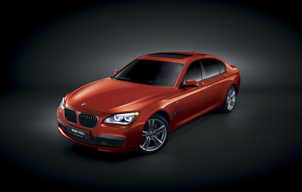 BMW Presents M-Badged 7-Series In Middle East
