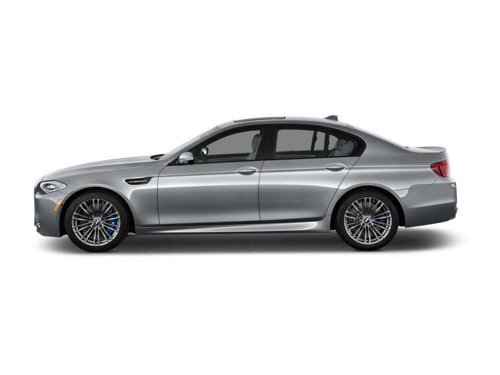 Image 2013 Bmw M5 4 Door Sedan Side Exterior View Size 1024 X 768 Type Gif Posted On May