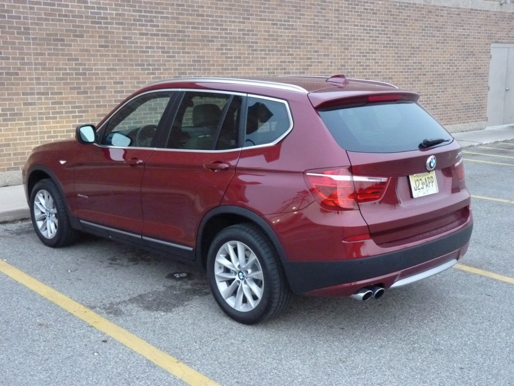 2013 BMW X3 xDrive28i  -  Driven, January 2013