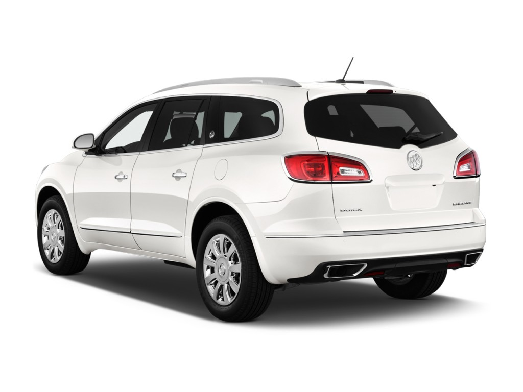Image 2013 Buick Enclave Fwd 4 Door Convenience Angular Rear Exterior View Size 1024 X 768