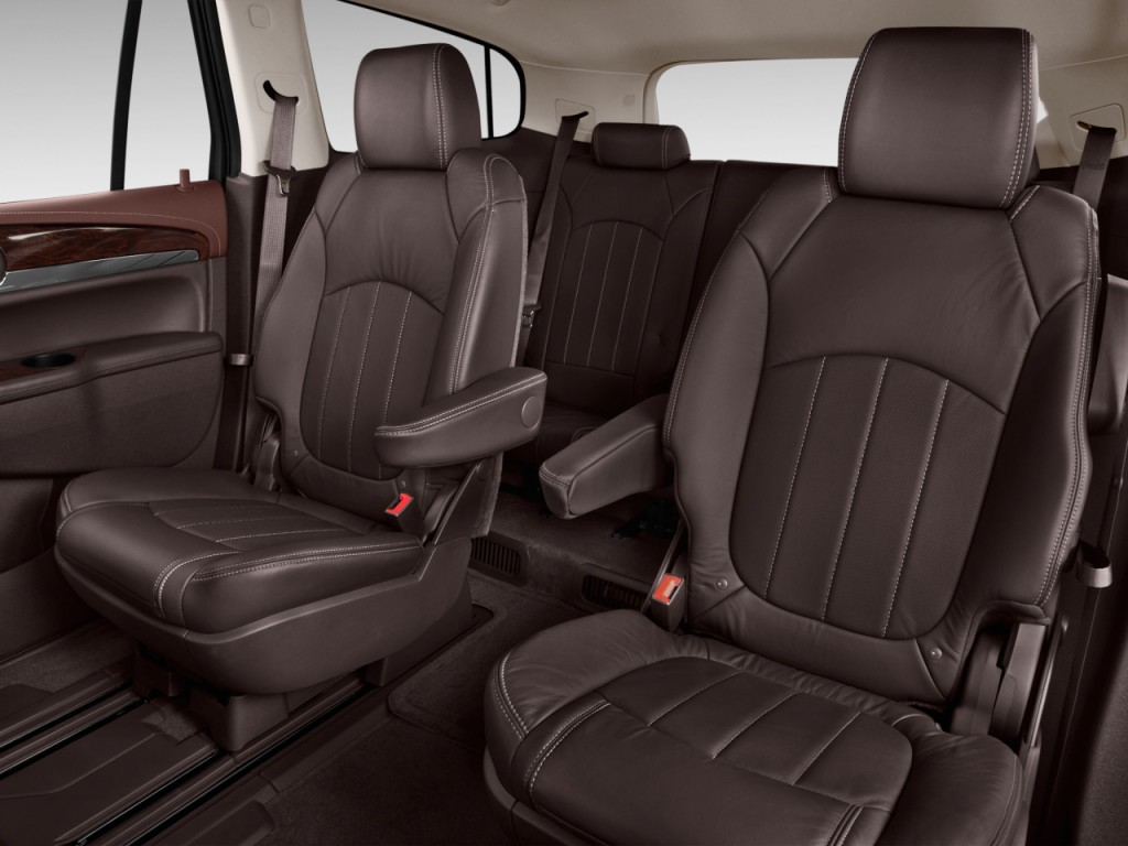 Image: 2013 Buick Enclave FWD 4-door Convenience Rear Seats, size: 1024 x 768, type: gif, posted ...