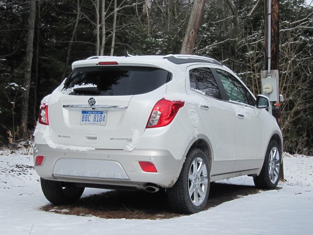 2013 Buick Encore, Catskill Mountains, New York, Feb 2013
