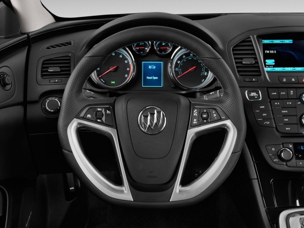 Image 2013 Buick Regal 4 Door Sedan Gs Steering Wheel