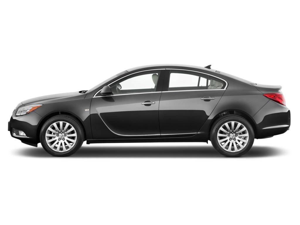 Image: 2013 Buick Regal 4-door Sedan Turbo Premium 2 Side ...
