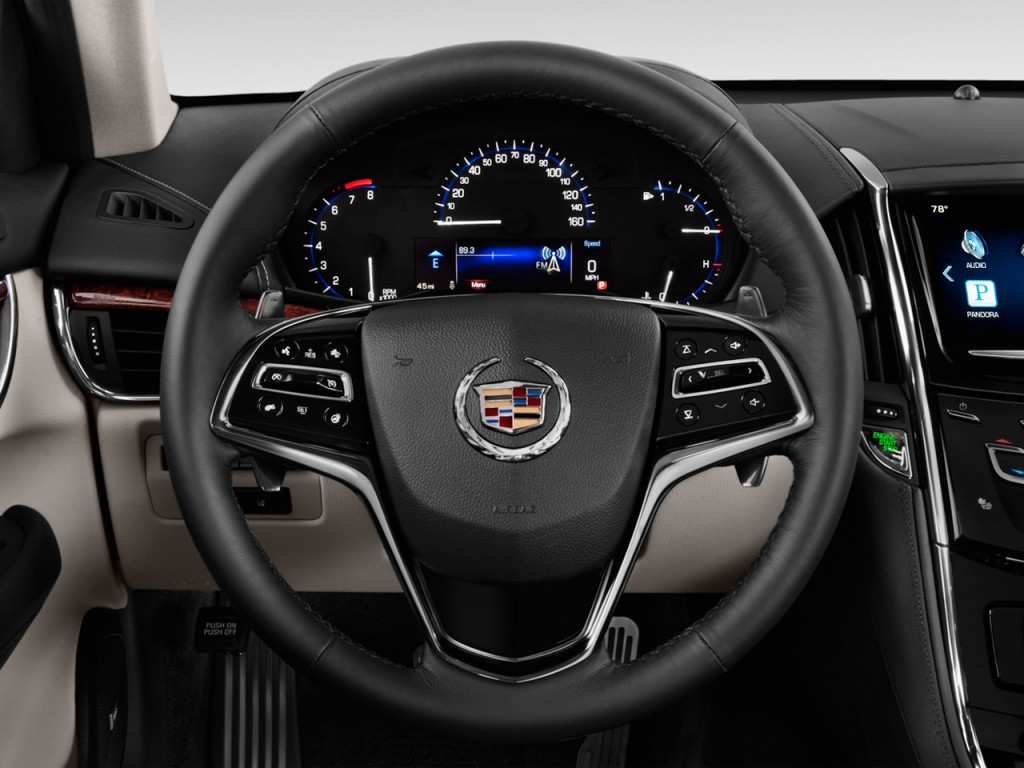 Image: 2013 Cadillac ATS 4-door Sedan 2.0L RWD Steering ...
