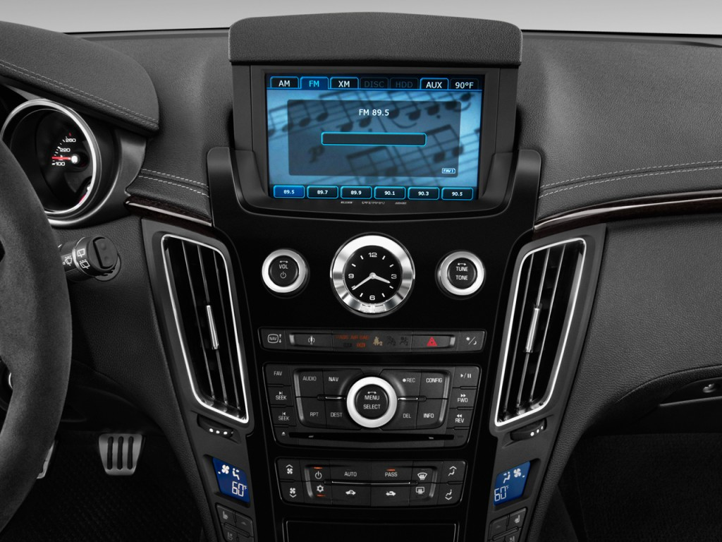 Image 2013 Cadillac Cts V 2 Door Coupe Audio System Size