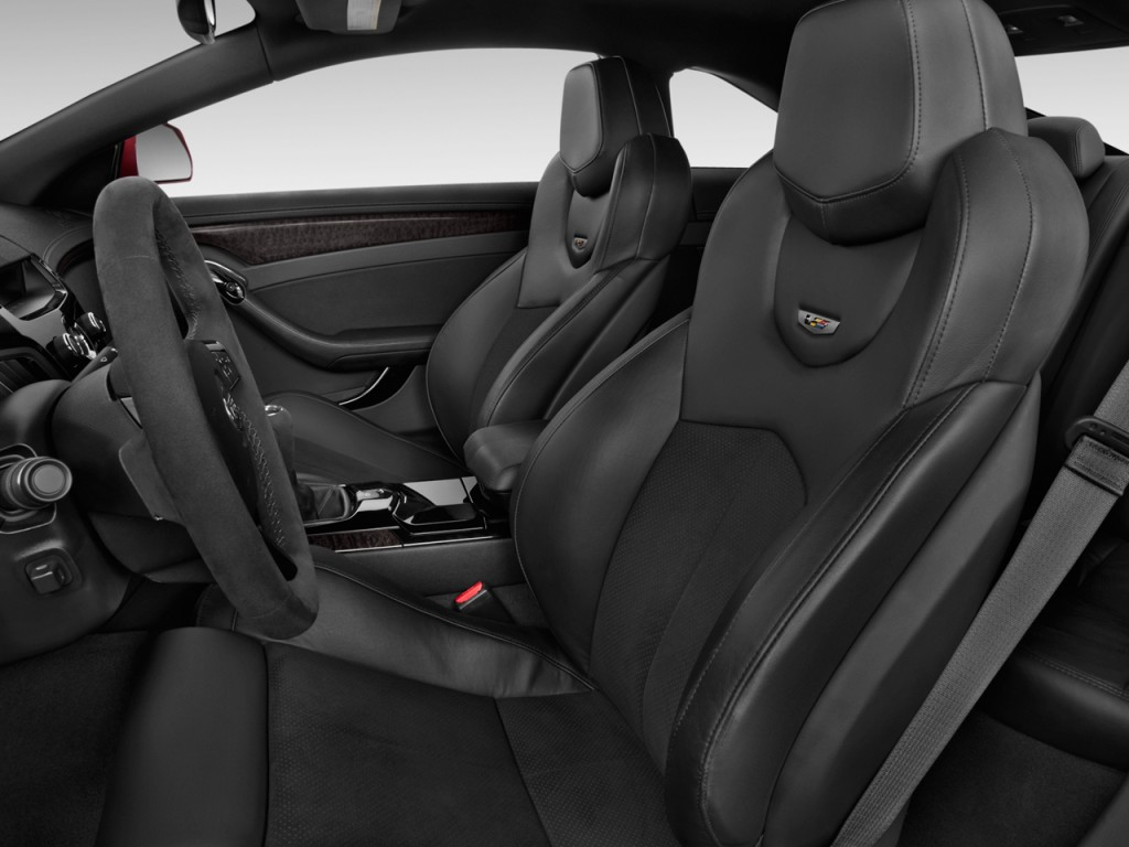 Used Cadillac Cts Coupe >> Image: 2013 Cadillac CTS-V 2-door Coupe Front Seats, size: 1024 x 768, type: gif, posted on ...
