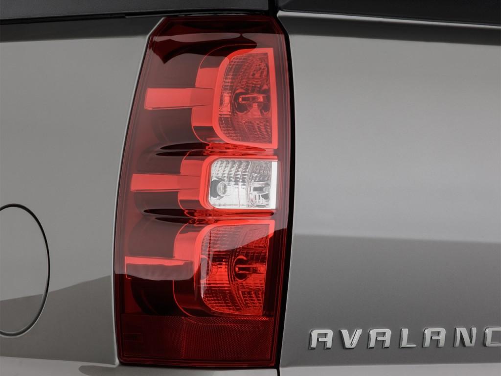 Image: 2013 Chevrolet Avalanche 2WD Crew Cab LTZ Tail ...