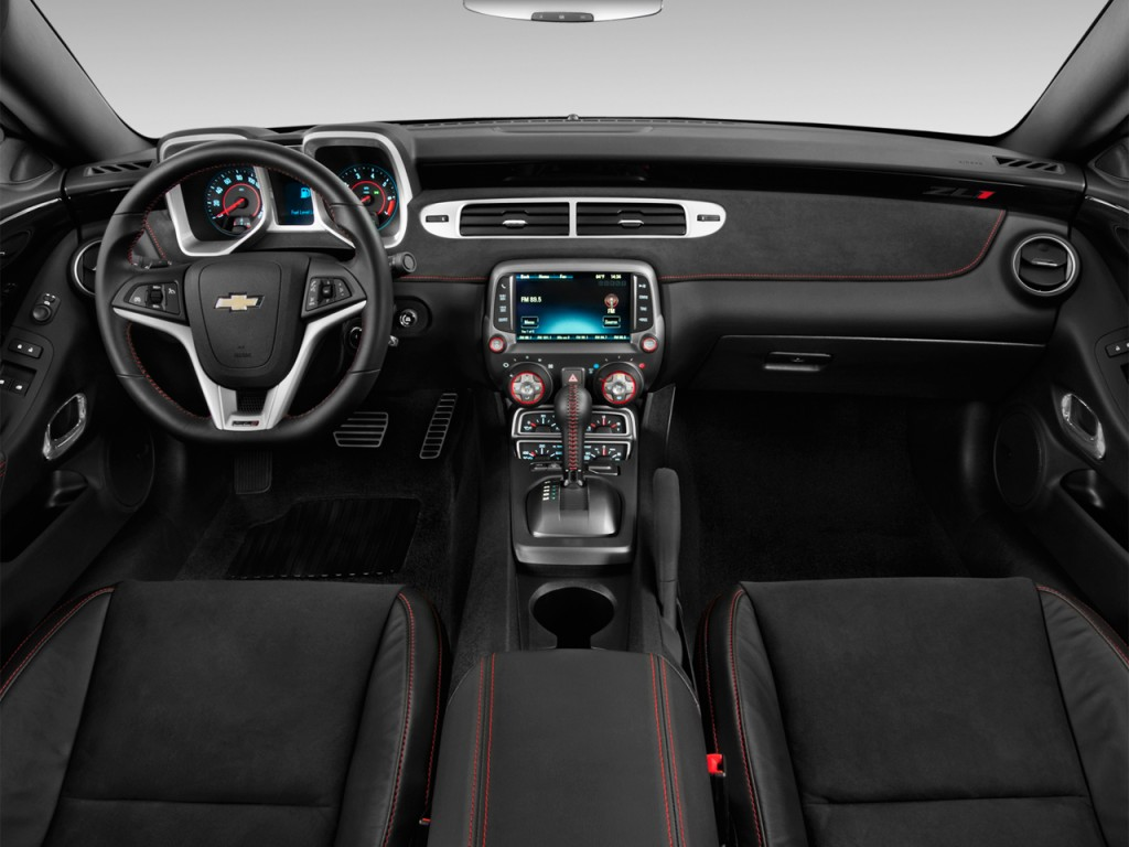 Image 2013 Chevrolet Camaro 2 Door Coupe Zl1 Dashboard Size 1024 X 768 Type Gif Posted On