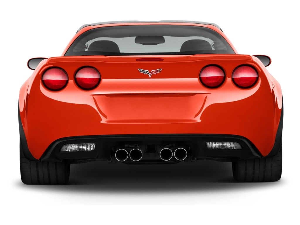 Image: 2013 Chevrolet Corvette 2-door Coupe Z06 w/1LZ Rear ...