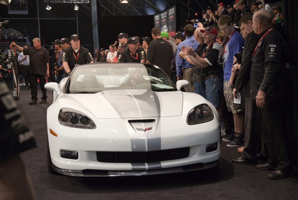 First 2013 Chevy Corvette 427 Convertible Sells For 600000