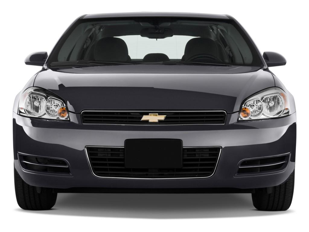 Image: 2013 Chevrolet Impala 4-door Sedan LS Retail Front Exterior View, size: 1024 x 768, type ...