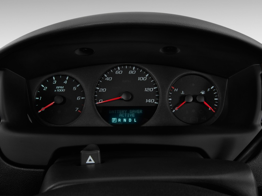 Custom 2018 F 150 >> Image: 2013 Chevrolet Impala 4-door Sedan LS Retail Instrument Cluster, size: 1024 x 768, type ...