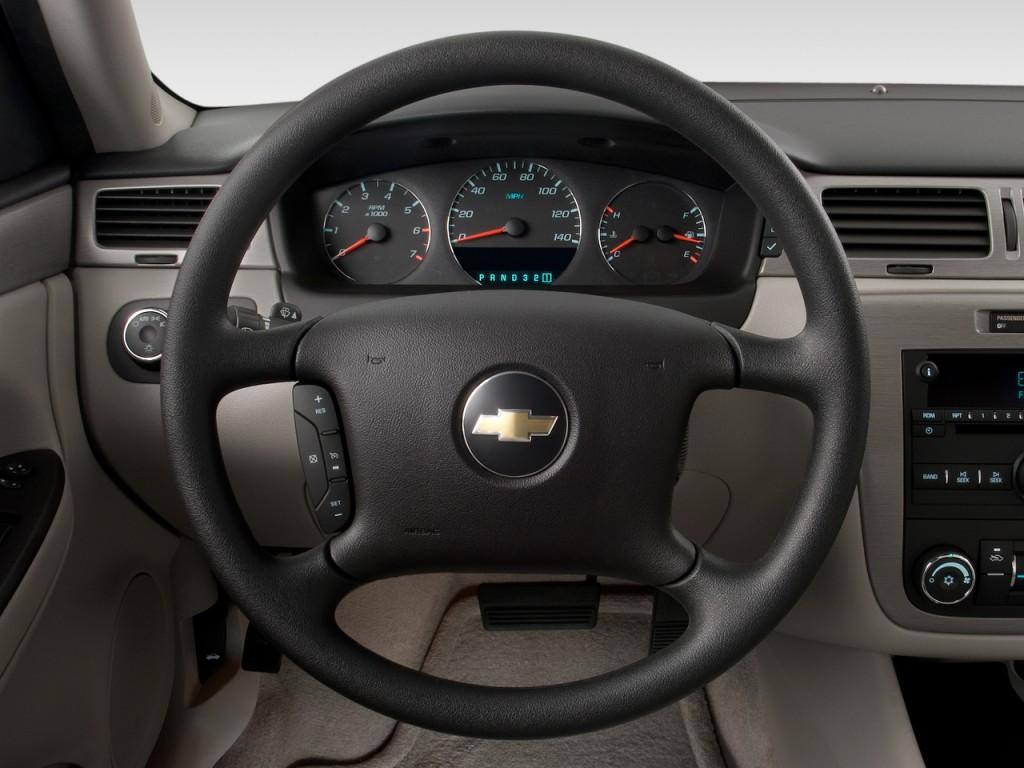 Image 2013 chevrolet impala 4 door sedan lt retail steering wheel size 1024 x 768 type gif for Chevrolet impala 2013 interior