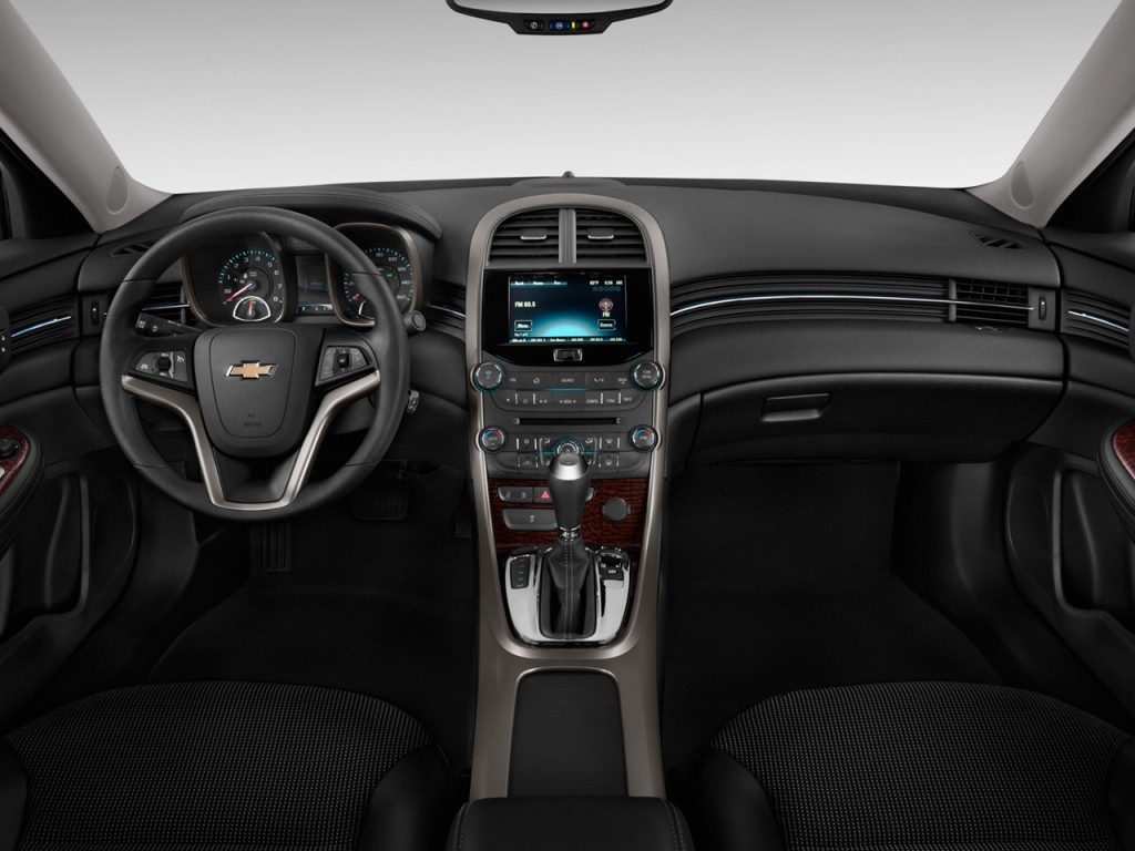 Image: 2013 Chevrolet Malibu 4-door Sedan ECO w/1SA Dashboard, size: 1024 x 768, type: gif ...