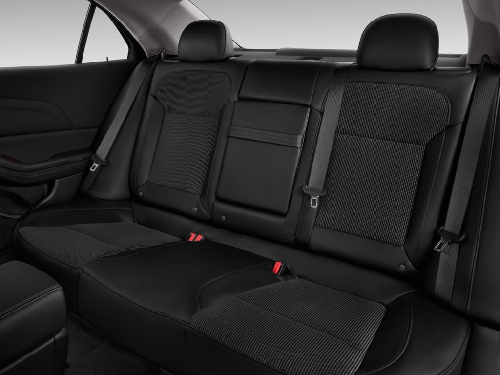 image 2013 chevrolet malibu 4 door sedan eco w 1sa rear seats size 1024 x 768 type gif. Black Bedroom Furniture Sets. Home Design Ideas