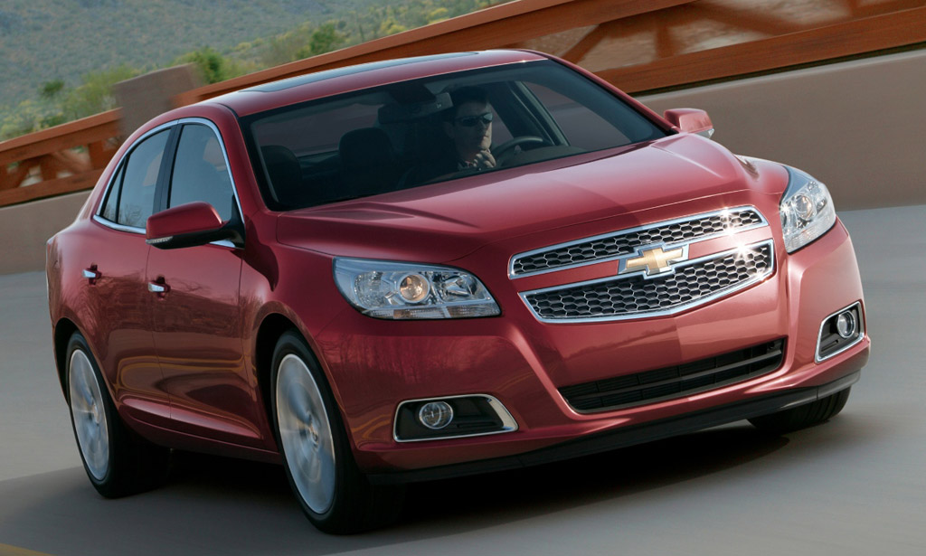 2013 Chevrolet Malibu: New Photos