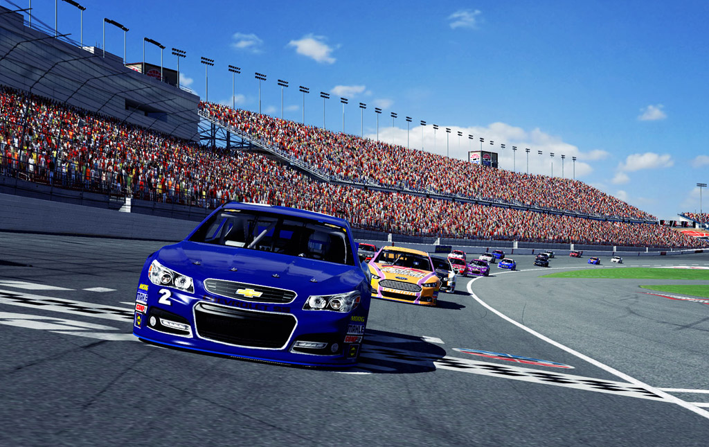 Chevy Ss And Ford Fusion Nascar Racers Added To Iracing Lineup Video