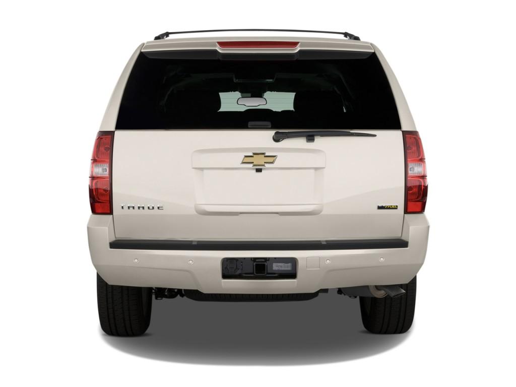 Image: 2013 Chevrolet Tahoe 2WD 4-door 1500 LTZ Rear Exterior View, size: 1024 x 768, type: gif ...