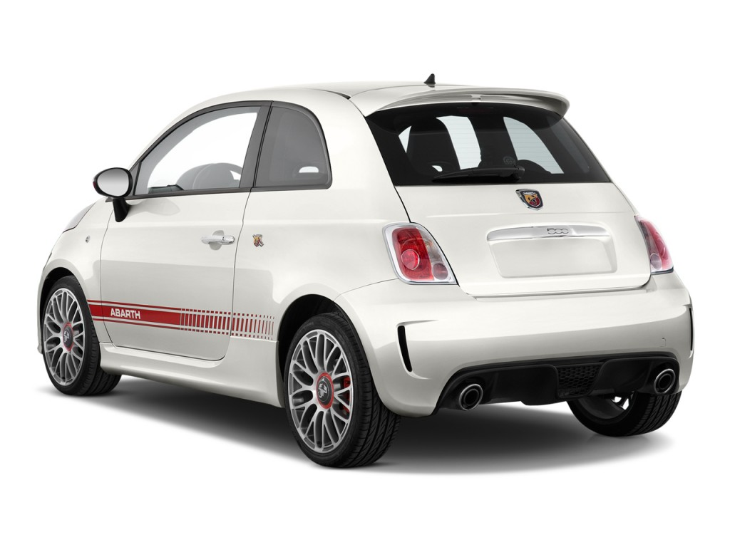 Image 2013 Fiat 500 2 Door Hb Abarth Angular Rear