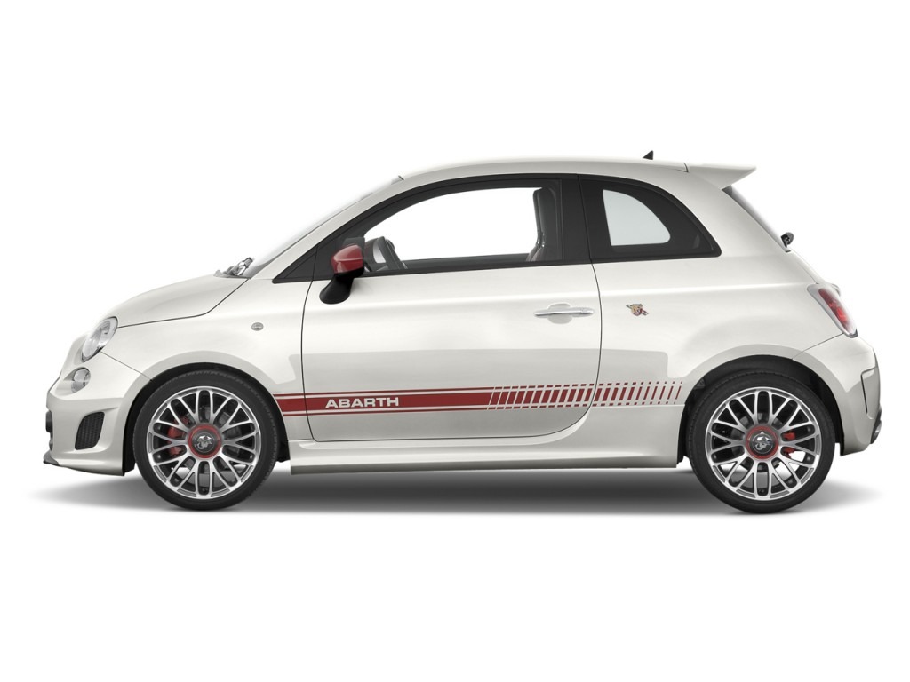 2013 FIAT 500 2-door HB Abarth Side Exterior View