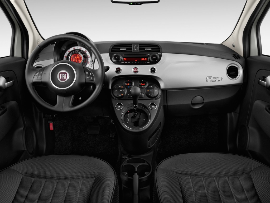 Image 2013 Fiat 500 2 Door Hb Lounge Dashboard Size