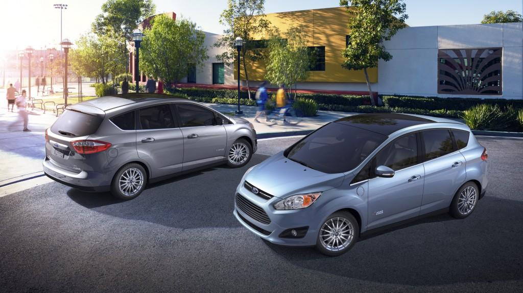 2013 Ford C-Max Hybrid and C-Max Energi plug-in hybrid