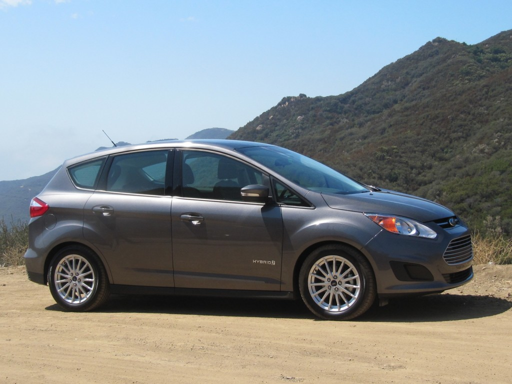 2013 Ford C-Max Hybrid Video Road Test