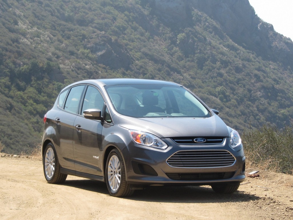 2013 Ford C-Max Hybrid, Los Angeles, August 2012