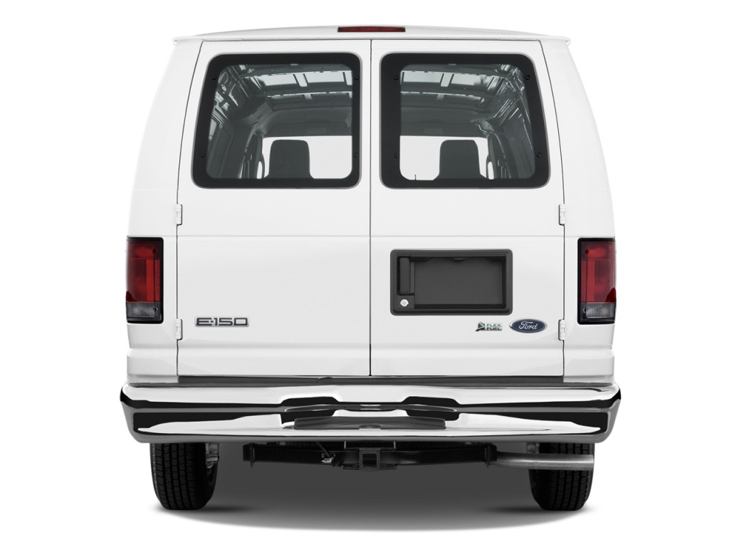 2013 ford econoline cargo van e 150 commercial rear exterior view