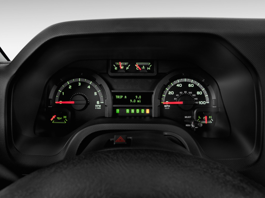 image  ford econoline wagon   xlt instrument cluster size    type gif