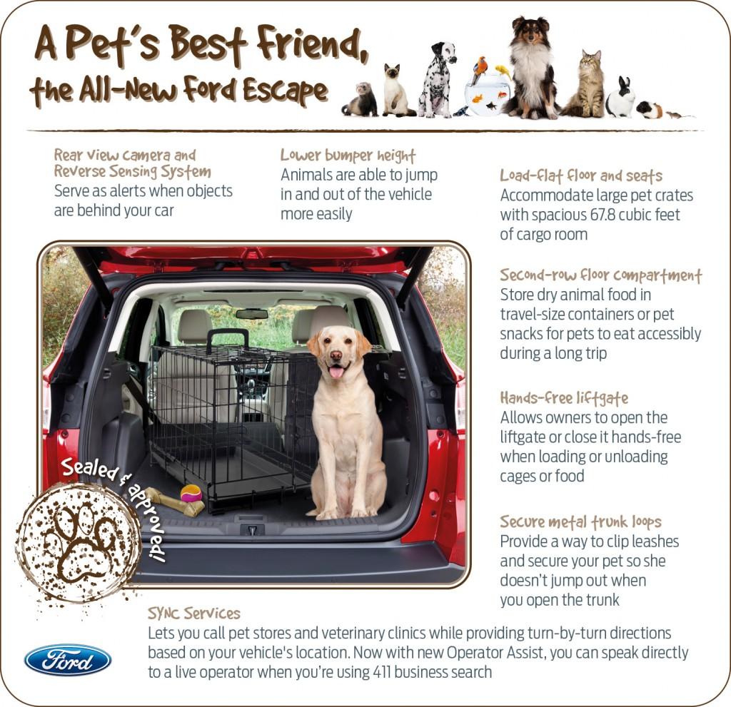 2013 Ford Escape - pet friendly