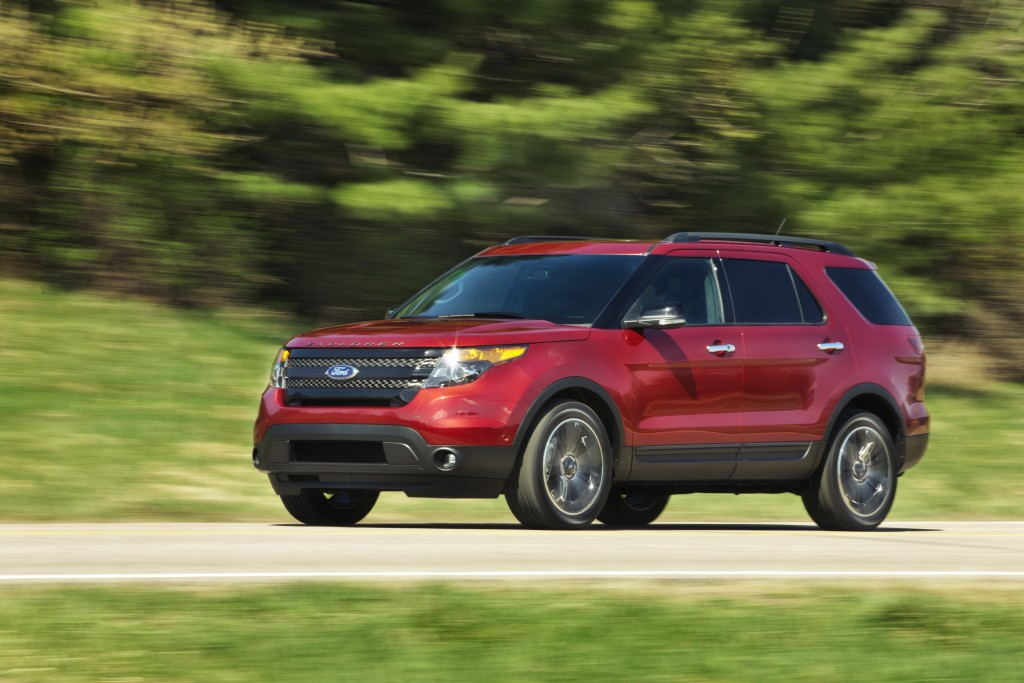 Any Recalls On 2013 Ford Explorer