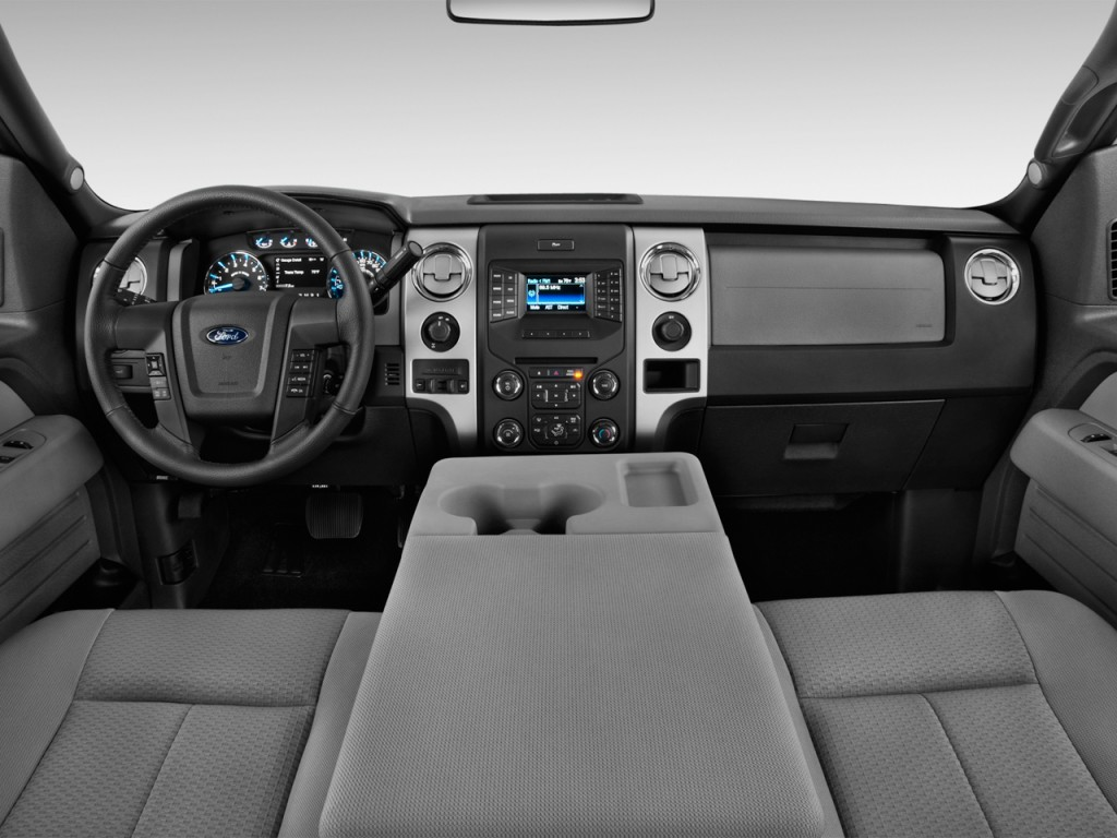 "Image: 2013 Ford F-150 2WD SuperCrew 157"" XLT Dashboard, size: 1024 x 768, type: gif, posted on ..."