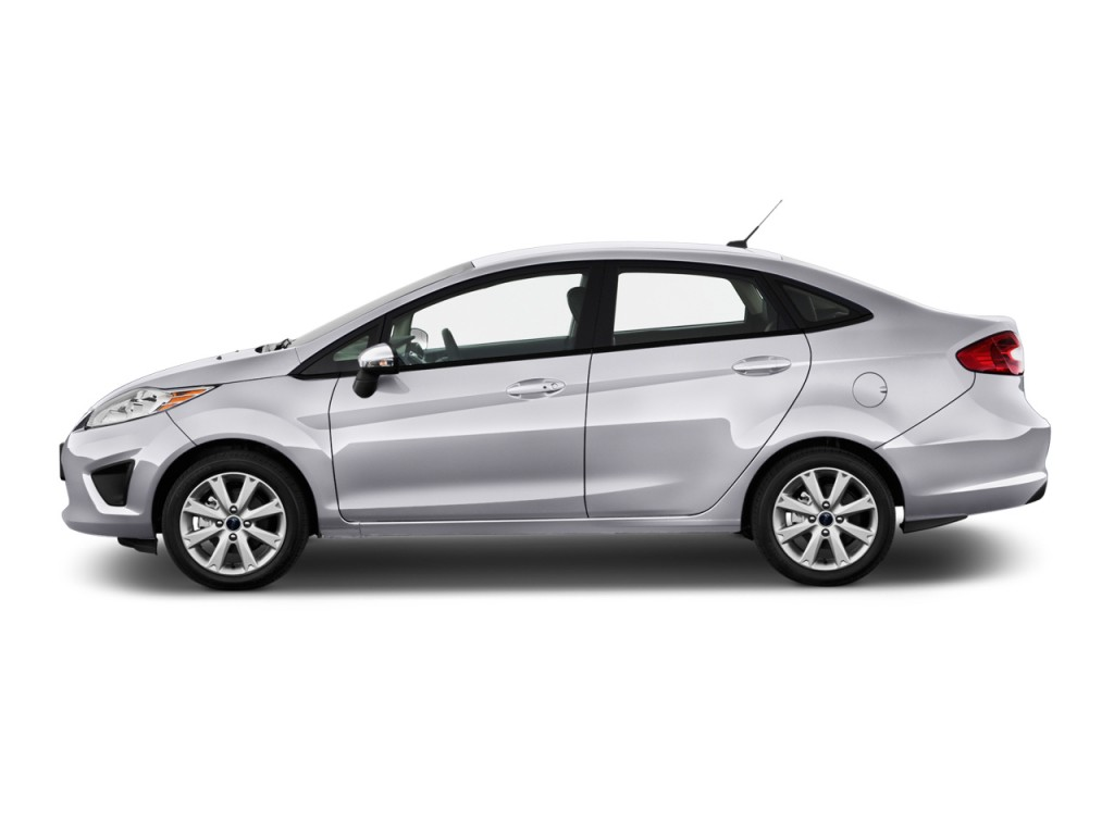 2013 Ford Fiesta 4 Door Sedan SE Side Exterior View