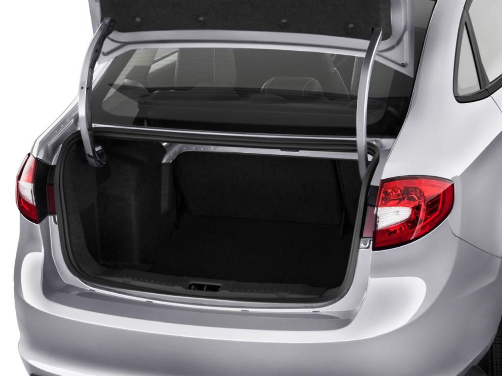 Image: 2013 Ford Fiesta 4-door Sedan SE Trunk, Size: 1024