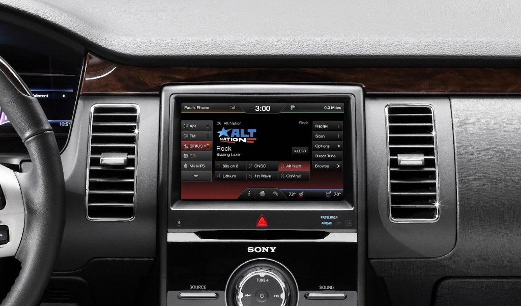 2013 Ford Flex - latest version of MyFordTouch