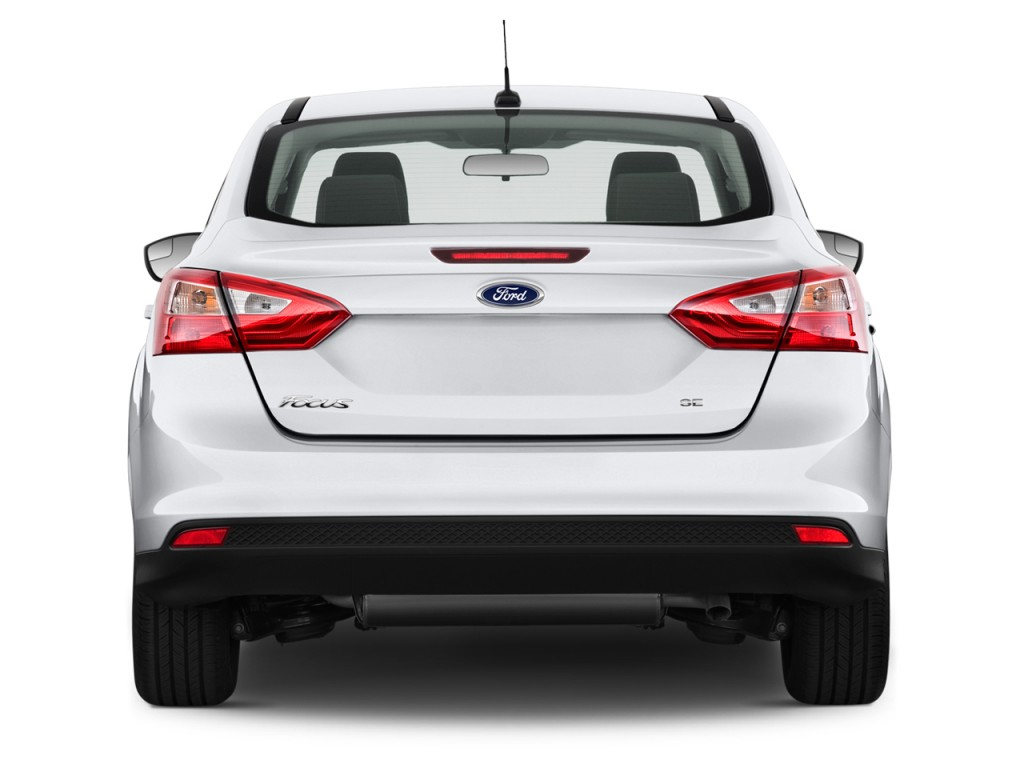 New Beetle Review >> Image: 2013 Ford Focus 4-door Sedan SE Rear Exterior View, size: 1024 x 768, type: gif, posted ...