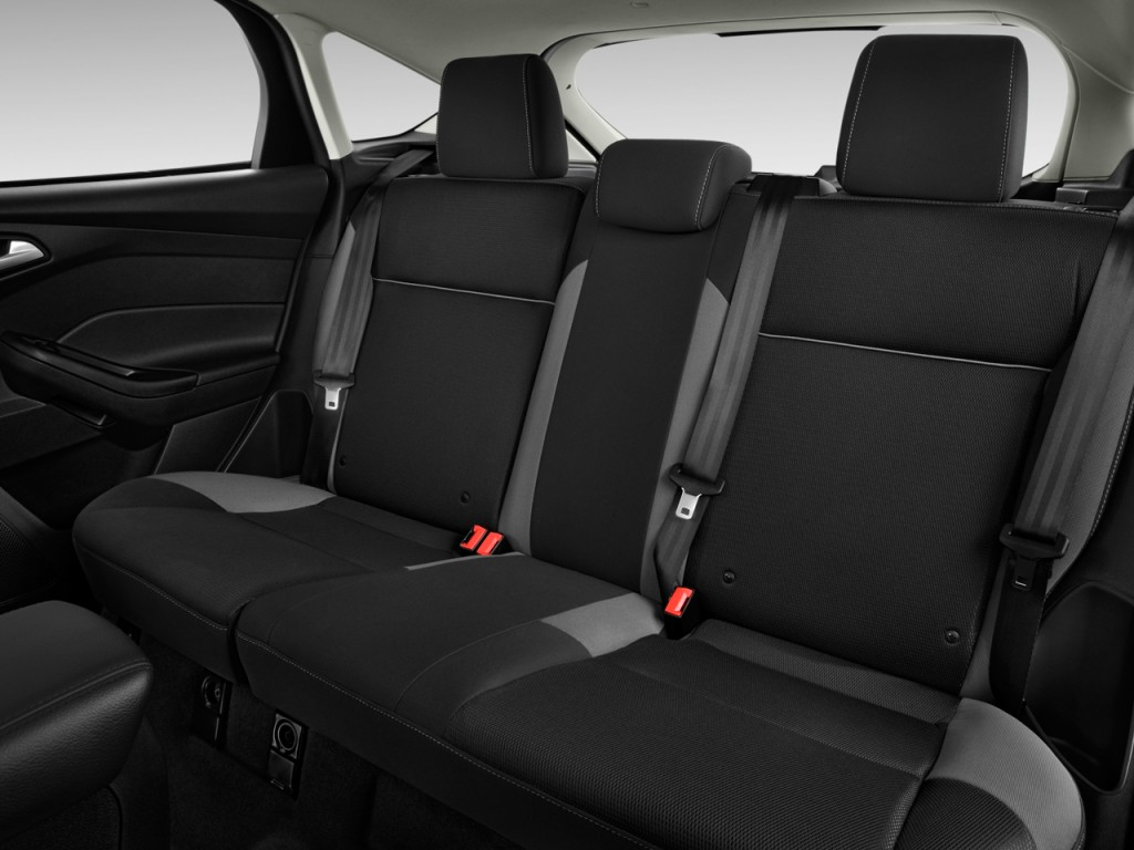 Image 2013 Ford Focus 5dr Hb Se Rear Seats Size 1024 X