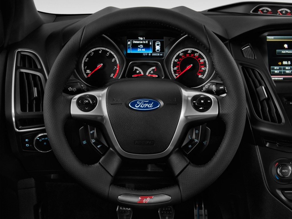 Image: 2013 Ford Focus 5dr HB ST Steering Wheel, size: 1024 x 768, type: gif, posted on: January ...