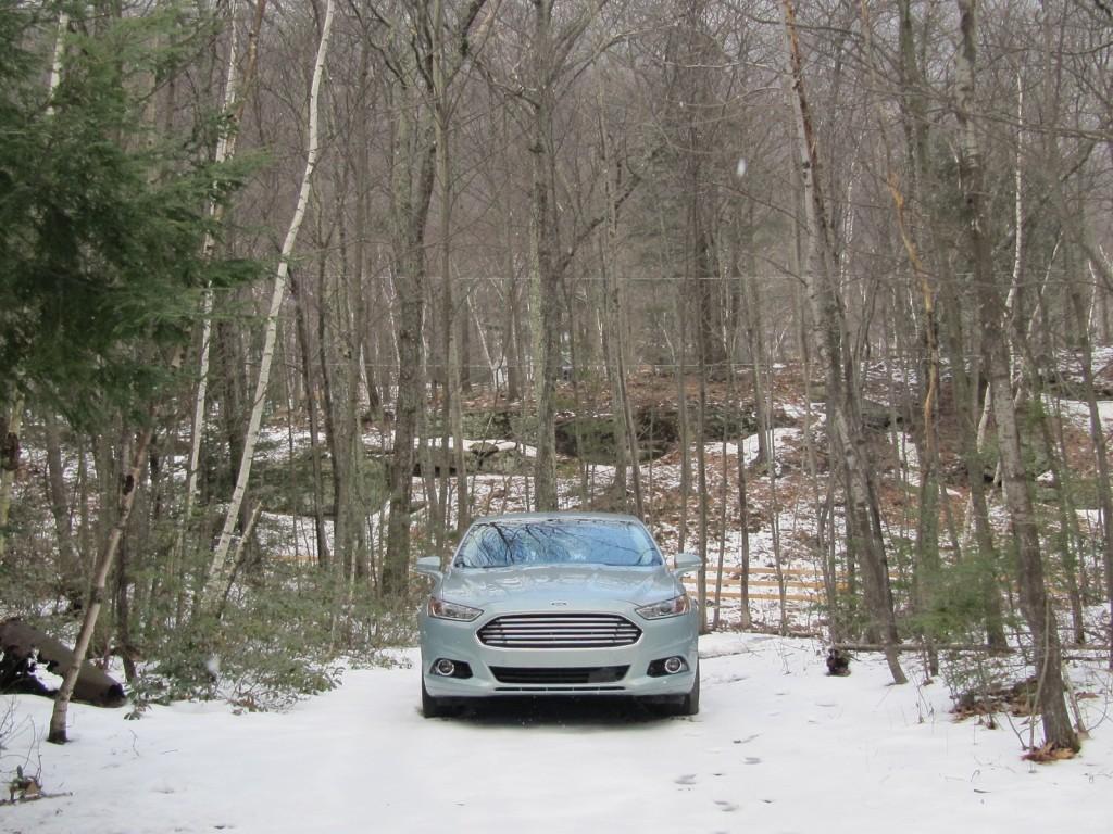 2013 Ford Fusion Hybrid, test drive, Catskill Mountains, NY, Mar 2013