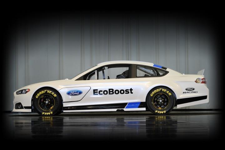 2013 Ford Fusion NASCAR Sprint Cup Race Car Unveiled