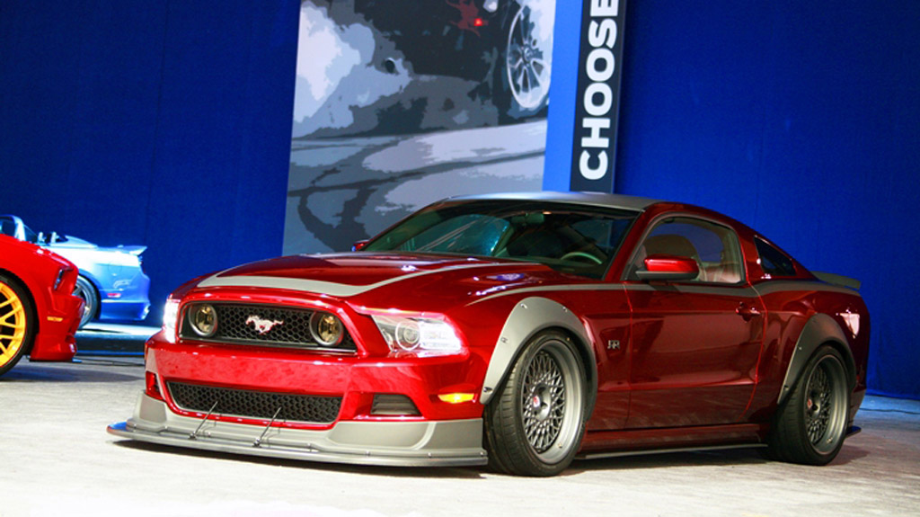 Ford Mustang Voted Hottest Car At SEMA - Ford show car