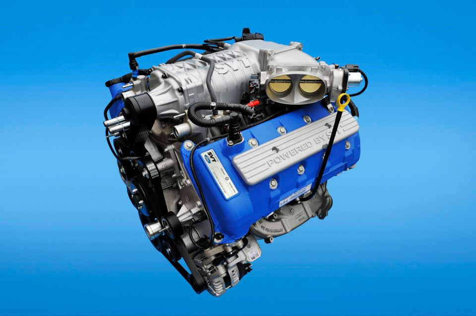 2013 Ford Mustang Shelby Gt500 New 5 8 Liter Engine Photo