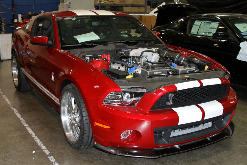 2013 shelby gt500 super snake continues construction gallery. Black Bedroom Furniture Sets. Home Design Ideas